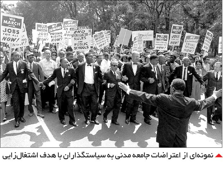 تجارت- فردا-  نمونهای از اعتراضات جامعه مدنی به سیاستگذاران با هدف اشتغالزایی