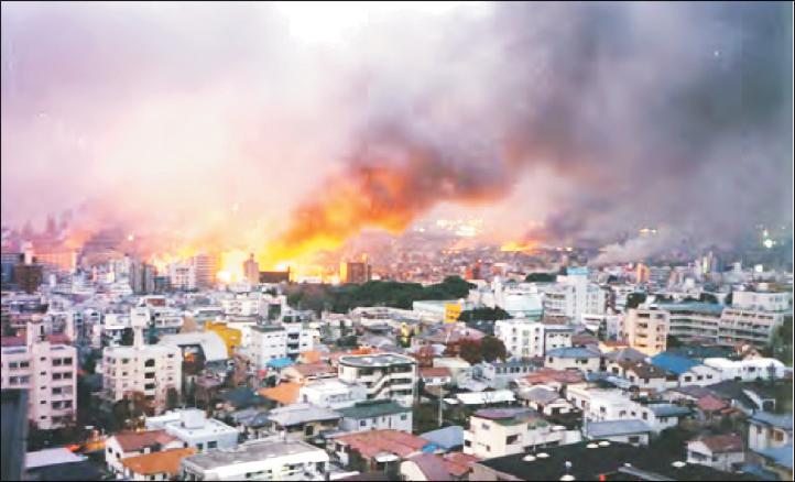 تجارت فردا-  زلزله ژاپن در سال 1995