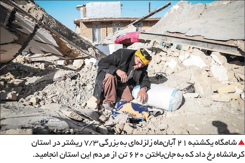 تجارت فردا- زلزله کرمانشاه