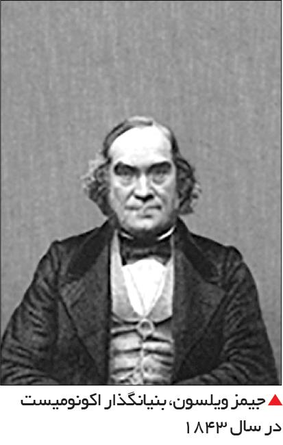 تجارت- فردا-  جیمز ویلسون، بنیانگذار اکونومیست در سال 1843