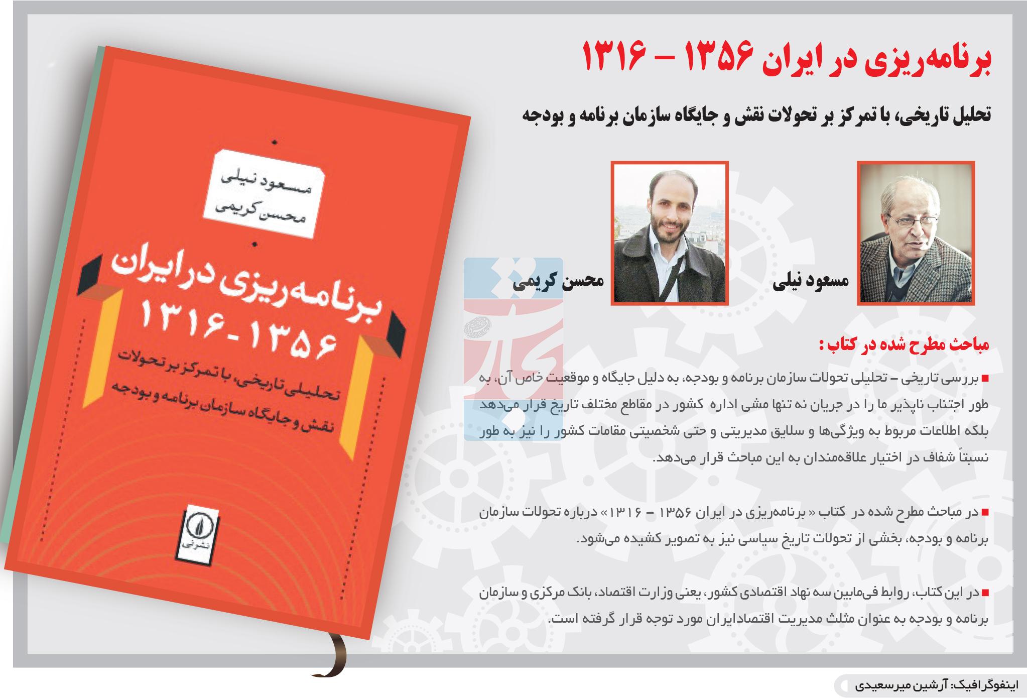 تجارت فردا- اینفوگرافیک- برنامهریزی در ایران 1356 - 1316