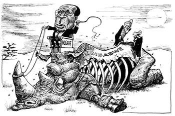 فاجعهای به نام «موگابه»