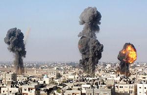 ادامه حملات اسرائیل