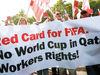 قطر در آستانه از دست دادن میزبانی
