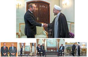 پیغامبر غرب به تهران آمد