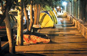 بیتوته در خیابان