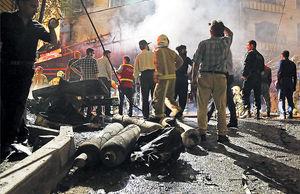 انفجار درمانگاه