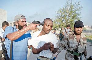 دست لیبی به سوی خارج